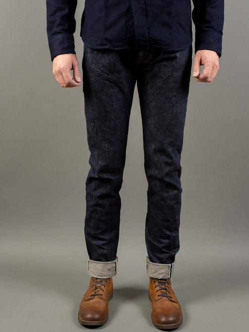 UES 400ST Slim Tapered japanese selvedge Jeans front