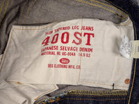 front pockets customized printing of UES 400ST japanese selvedge Jeans