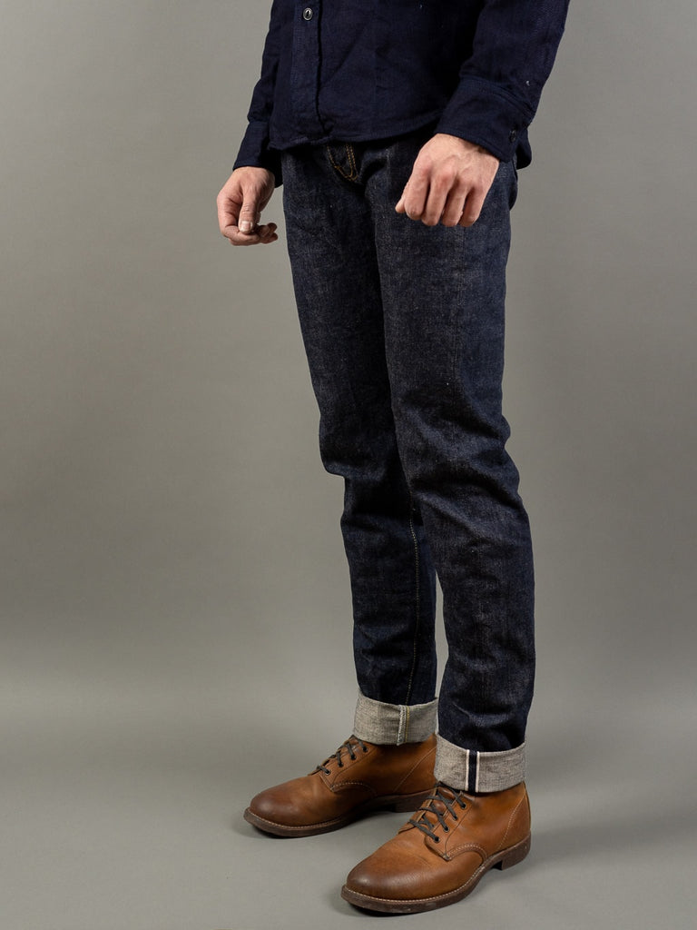UES 400ST Slim Tapered japanese selvedge Jeans side