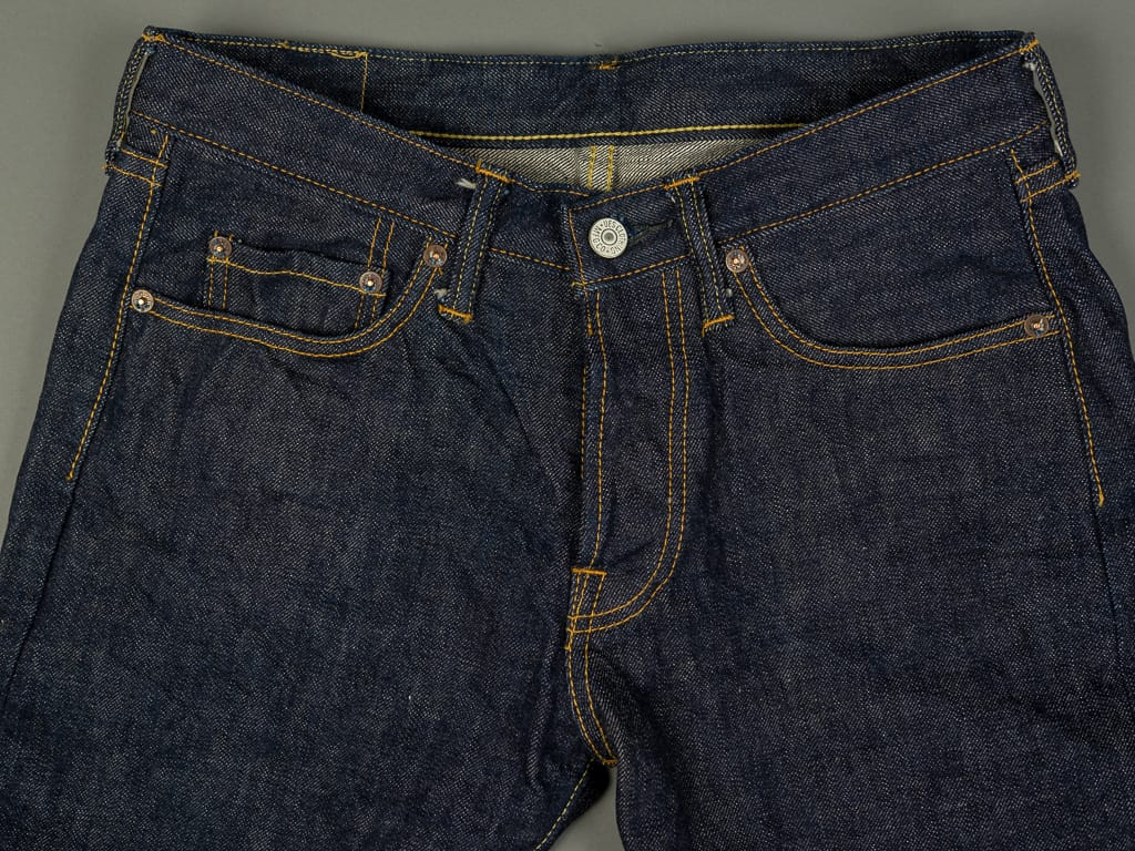 UES 400ST Slim Tapered japanese selvedge Jeans waist