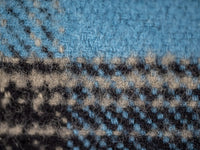 UES Heavy Flannel Shirt Blue interior fabric