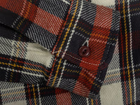 UES Heavy Flannel Shirt Red cuff