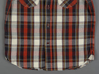 UES Heavy Flannel Shirt Red waist