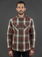 UES Heavy Flannel Shirt Red