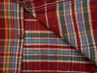 UES Heavy Flannel Shirt Red/Orange interior