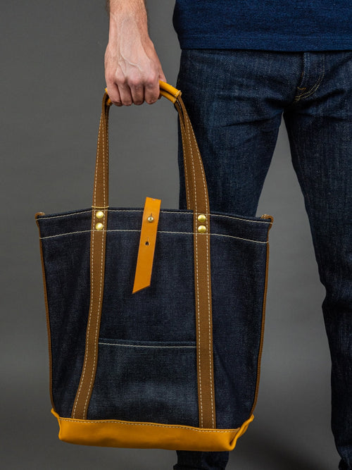 UES 23oz Extra Heavy Selvedge Denim Tote Bag large