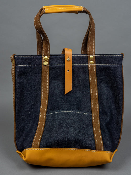 UES 23oz Extra Heavy Selvedge Denim Tote Bag back
