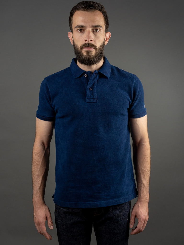 UES Polo Shirt Indigo