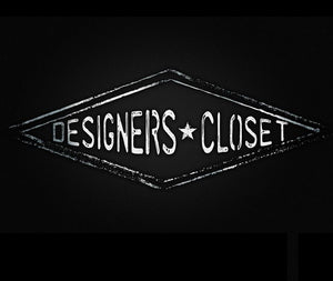 Designers Closet Logo Black and White