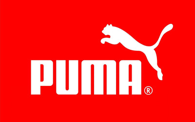 Puma Logo Red White