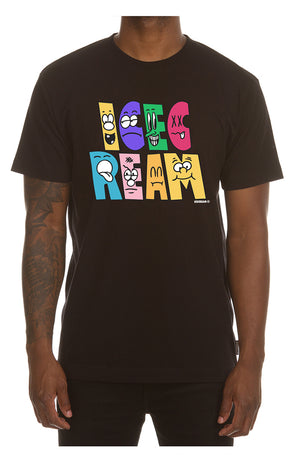 ICE CREAM 401-9204 Characters SS Tee BLK / 3X Designers Closet