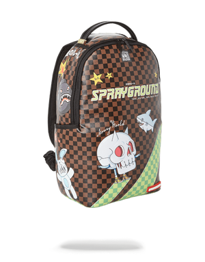 SPRAYGROUND 910B3048NSZ WTF Thunder Sharks Backpack  Designers Closet