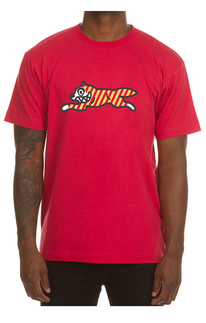 ICE CREAM 401-9200 Yikes Stripes SS Tee RED / S Designers Closet