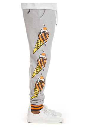 ICE CREAM 491-9102 Blackcomb Sweatpant HTHGREY / S Designers Closet
