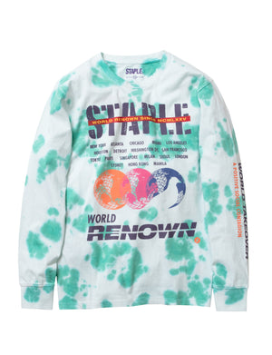 STAPLE 1911C5731 Takeover Long Sleeve Tee  Designers Closet