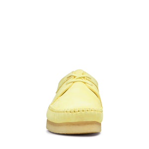CLARKS 26139183 Wallabee Weaver Pale Yellow  Designers Closet