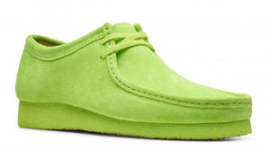 CLARKS 26148597 Wallabee Men's Shoe Bright Lime  Designers Closet
