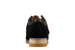 CLARKS 26157369 Wallabee Low Black Combi  Designers Closet