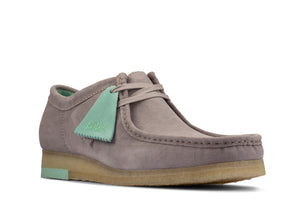 CLARKS 26160202 Wallabee Low Grey Combi  Designers Closet