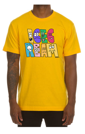 ICE CREAM 401-9204 Characters SS Tee YLLW / 3X Designers Closet