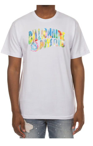BBC 801-7201 BB Watercolor SS Tee WHT / S Designers Closet