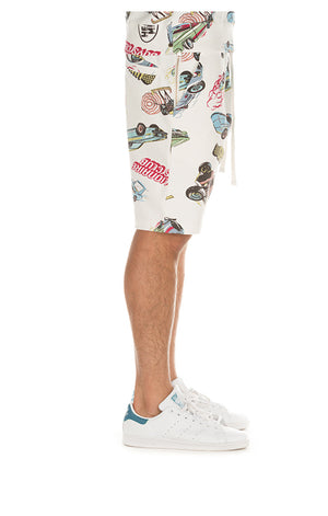 BBC 891-1102 BB Motorways SHORTS  Designers Closet