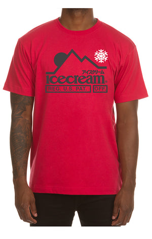 ICE CREAM 401-9202 At The Top SS Tee  Designers Closet