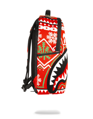 SPRAYGROUND B1916 Ugly Sweater Shark  Designers Closet