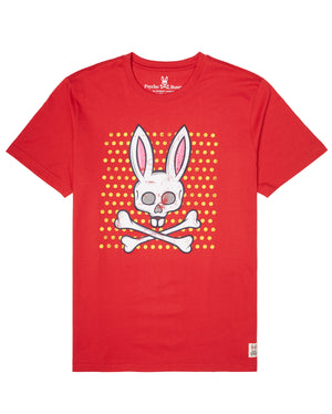 Psycho Bunny B6U523G1PC Mens Graphic Tee BRI / S Designers Closet