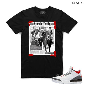 HASTAMUERTE NEWSPAPERHUSTLE Newspaper Hustle Tee BLK / S Designers Closet