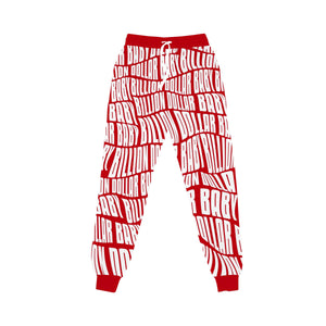 BILLION $ BABY AOPJOGGER AOP Jogger RED / S Designers Closet