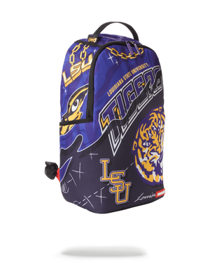 SPRAYGROUND B3285 LSU Big Style Bag  Designers Closet