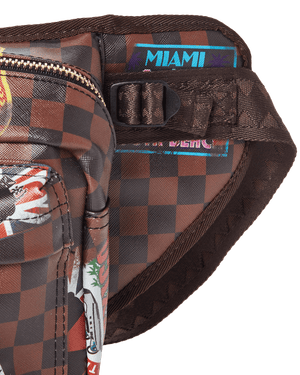 SPRAYGROUND 910B3362NSZ Global Mogul International Travel Patch Cargo Cross  Designers Closet