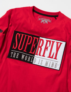 BORN FLY 1910T3446 Long Sleeve Graphic Tee  Designers Closet