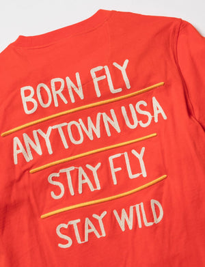 BORN FLY 1910T3638 Short Sleeve Graphic Tee  Designers Closet