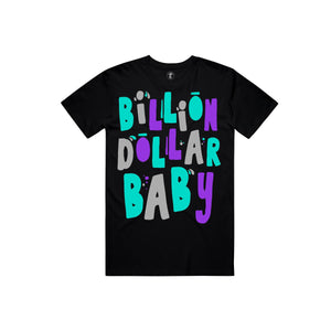 BILLION $ BABY BIRTHDAY Birthday Tee BLK / S Designers Closet