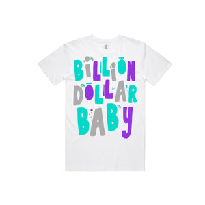 BILLION $ BABY BIRTHDAY Birthday Tee WHIT / S Designers Closet