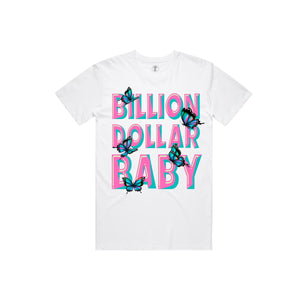 BILLION $ BABY BUTTERFLY Butterfly T-Shirt  Designers Closet