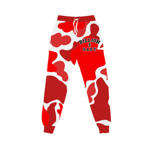 BILLION $ BABY AOPJOGGER AOP Jogger CHERRY / S Designers Closet