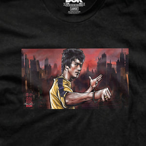 DGK PTM-1885 Bruce Lee Warrior Tee  Designers Closet