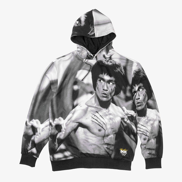 DGK CFP-1036 Bruce Lee Hooded Fleece  Designers Closet