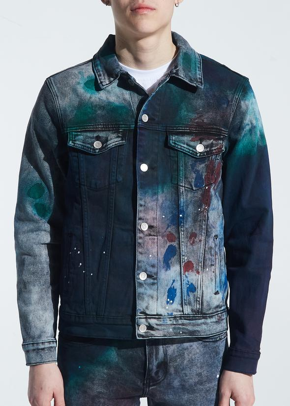EMBELLISH EMBSP120-212 Brees Denim Jacket  Designers Closet