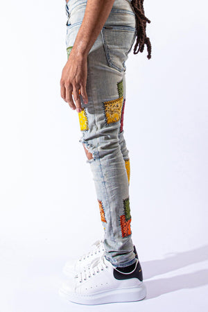 "SERENEDE FRWLD ""Free World"" Jeans"