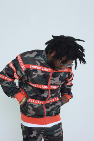 SNIPER GANG FW190033 STRAPPED UP JACKET  Designers Closet