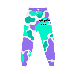 BILLION $ BABY CAMOAOPJOGGER CAMO AOP Jogger GRAPE / S Designers Closet