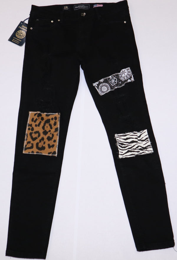 DAMATI DMT-102 Milan Denim BLACK / 30 Designers Closet