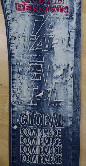 STAPLE 2002D5942 EMB Logo Denim  Designers Closet
