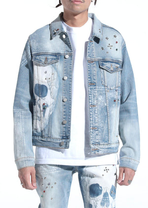 LIFTED ANCHORS LAH20-19 Kingdom Denim Jacket  Designers Closet