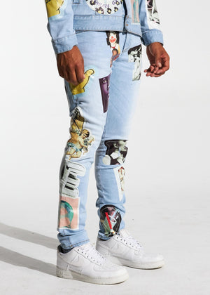 LIFTED ANCHORS LASP20-18 Leo Denim  Designers Closet