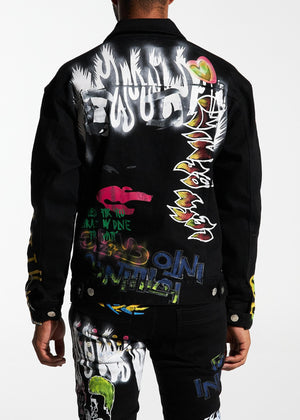 LIFTED ANCHORS LASP20-19 Solange Trucker Jacket  Designers Closet